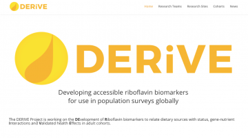 DERiVE Project: Developing accessible riboflavin biomarkers for use in population surveys globally